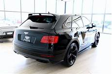 bentley bentayga edition 2018 bentley bentayga w12 black edition stock 8n018676