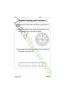 fraction worksheets primary resources 4069 fractions worksheet pack lower primary teaching resource maths year 3 4 fractions