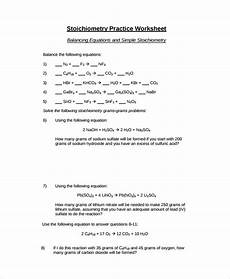 balancing equations and simple stoichiometry worksheet answers free 9 sle balancing equations worksheet templates in pdf ms word