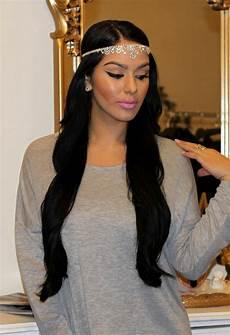 lange schwarze haare frisuren lange haare haarband trendige kurzhaarfrisuren