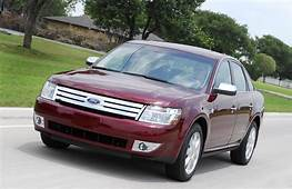 2008 Ford Taurus Named Family Car Of The Year  Top Speed