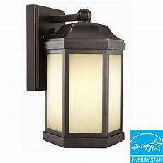 design house rubbed bronze fluorescent outdoor wall downlight 514992 the