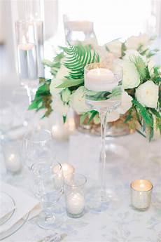 modern romantic green white wedding ideas every last