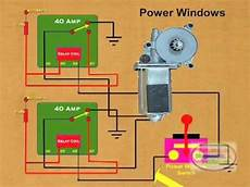 How To Wire A Power Window Relay