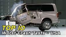 Worst Crash Test by Top 10 Worst Vehicle Crash Tests Usa Edition