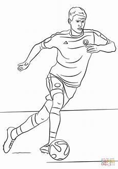Fussball Ausmalbilder Ronaldo Ausmalbild Muller Ausmalbilder Kostenlos Zum