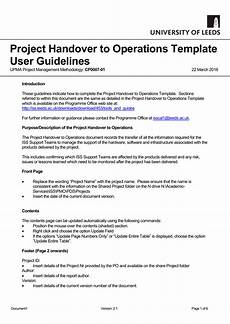handover of work responsibilities and duties email sle handover to operations guidelines