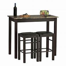 Dining Table With Stools by 3 Dining Set Bar Stools Pub Table Breakfast Chairs
