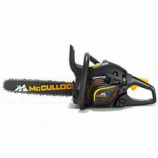 mcculloch cs 450 450mm 45cc elite petrol chainsaw