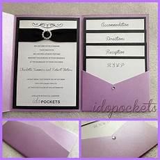 pocket fold wedding invitations diy envelopes invite