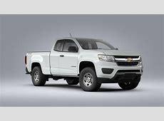 New 2020 Chevrolet Colorado 4WD Work Truck (Summit White