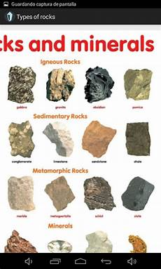 amazon com types of rocks appstore for android
