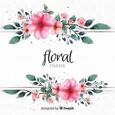 Blumen Malvorlagen Kostenlos Bearbeiten Blumenrahmen Kostenlose Vektor
