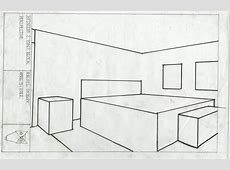 Bedroom in Blocks  Blocks Drawing   rachelgodley