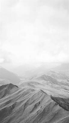 Wallpaper Mountain Black White Clouds Wallpapers Free Photos