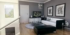 living room grey walls su deco livingroom
