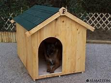 niche en bois ceasar pour petit chien 0 77m2 almateon