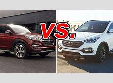 Hyundai Tucson vs. Hyundai Santa Fe Sport   CarsDirect
