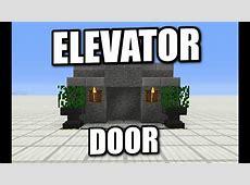minecraft elevator easy