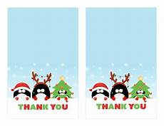 free printable christmas thank you cards printable cards