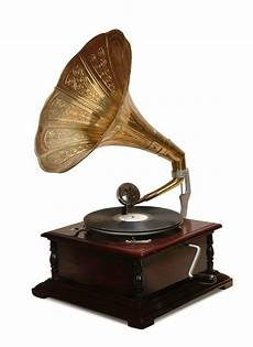 1305 Record Player Antique Gramophone Turntable by How Do Gramophones Work Techwalla