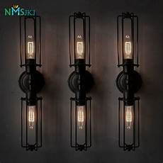 aliexpress com buy black wrought iron wall sconces light decor lighting fixture from