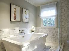 Bathroom Tile Ideas Half Bath by Half Tiled Bathroom Walls Design Ideas
