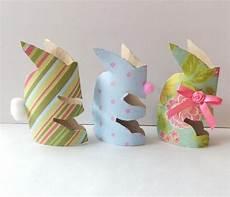 basteln mit klopapierrollen ostern basteln mit kindern ostern dekorationen mit klopapierrollen