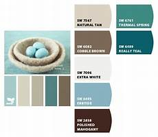 paint color scheme aqua mahogany search paint