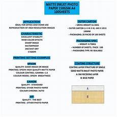 premium a4 matte inkjet photo paper various weights sizes ebay