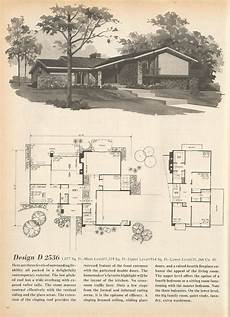 tri level house plans 1970s vintage house plans multi level homes part 13 vintage
