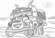 Cars 3 Malvorlagen Gratis Miss Fritter From Cars 3 Disney Coloring Pages Printable