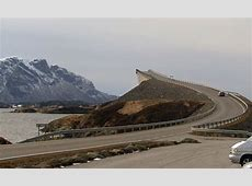 The road to nowhere! Norwegian bridge gives motorists a