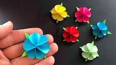 Basteln Mit Papier Blume Als Geschenk Selber Machen