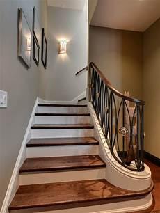 stairwell wall sconces houzz