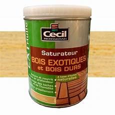 Cecil Ext Huile Saturateur Bois Exotiques Et Bois Durs