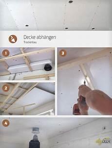 Decke Abh 228 Ngen Trockenbau Gips Plošče Trockenbau