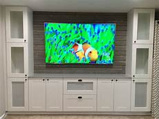 Kitchen Cabinets Entertainment Center by Shiplap Entertainment Center From Ikea Kitchen Cabinets