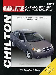 car repair manuals online free 2011 chevrolet traverse head up display chevy aveo repair manual 2004 2011 by chilton