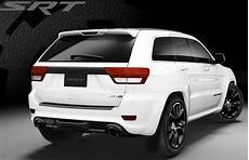 2013 Jeep Grand Srt8 Black Vapor And Alpine White
