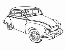 Oldsmobile 1956 Antique Car Coloring Pages