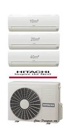 Climatisation Multi Split Hitachi Et Mise En Service