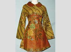 Blus Batik Baru   Batik Baju Muslim Modern