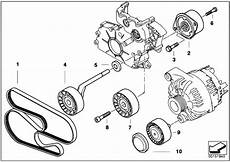 Bmw E46 Engine Drive Belt Diagram by Original Parts For E60 530d M57n Sedan Engine Belt