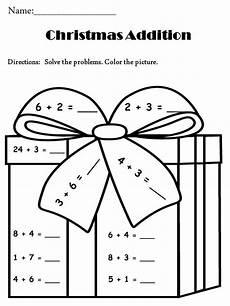 addition math coloring activtiy