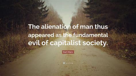 Marx Alienation