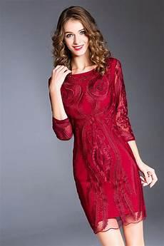 robe style ée 20 robe de soir 233 e pour c 233 r 233 monie mariage dentelle florale
