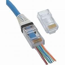 Platinum Tools Ez Rj45 Cat 6 Connector 500 Pcs
