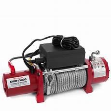 elektrische seilwinde 12v rotfuchs 174 elektrische seilwinde ewr13000 12v 5909 kg inkl