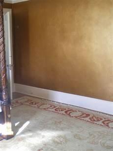 wand gold streichen metallic wall glaze home design ideas pictures remodel